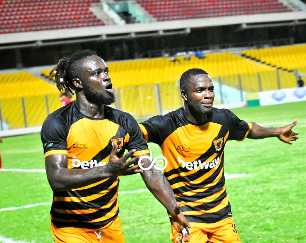 I deserved the Man of the Match award against Hearts- AshGold winger Yaw Annor