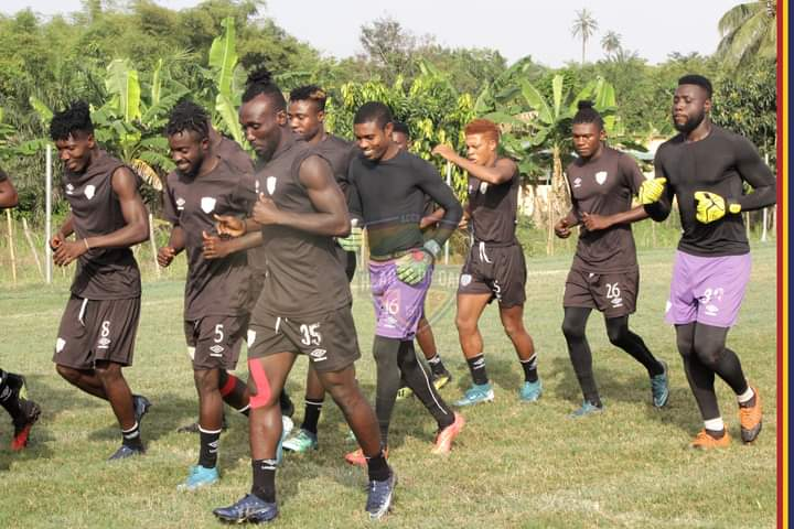 PICTURES: Hearts of Oak resume training ahead of league opener against AshGold after COVID-19 scare
