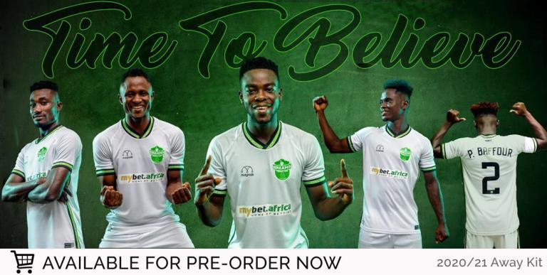 Dreams FC unveil new kit for 2020/21 season