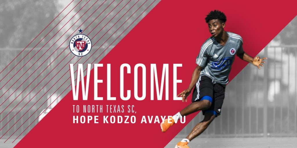 American club North Texas sign Bechem United sensation Hope Kodzo Avayevu