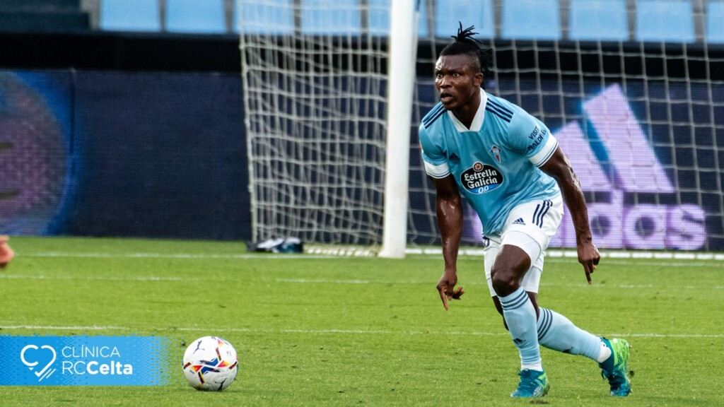 Joseph Aidoo suffers fresh injury in Celta Vigo's defeat to Sevilla