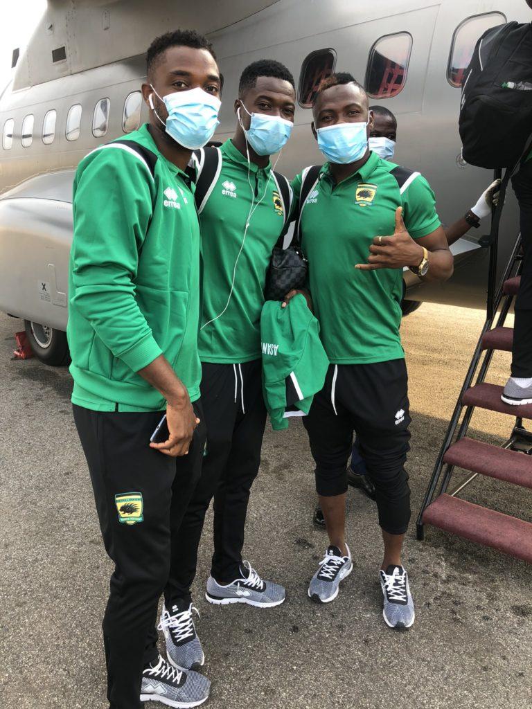 Asante Kotoko depart for Mauritania ahead of CAF CL clash against Nouadhibou FC