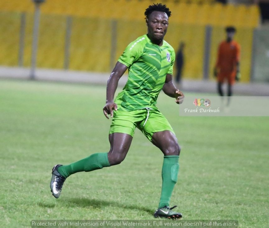 2020/21 Ghana Premier League: Bechem United's Moro Salifu named Man of the Match after victory over WAFA