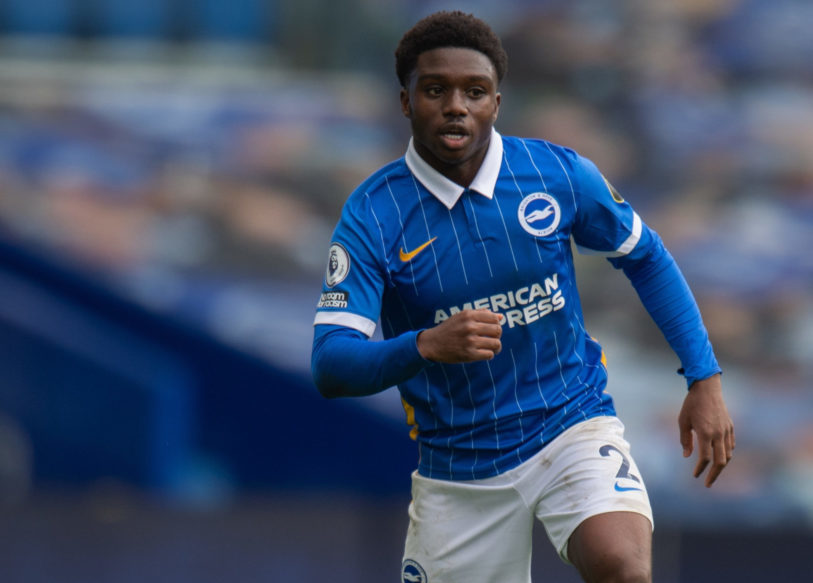 Brighton's Tariq Lamptey disappointed to miss Liverpool game- Graham Potter
