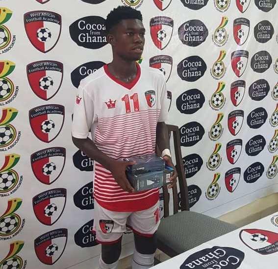 2020/21 Ghana Premier League: WAFA kid Forson Amankwah named Man of the Match in King Faisal clash.
