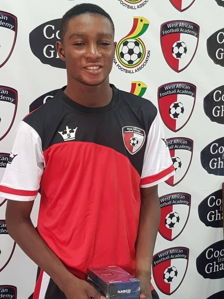 2020/21 Ghana Premier League: WAFA star Godwin Agbevor wins Man of the Match in Elmina Sharks draw