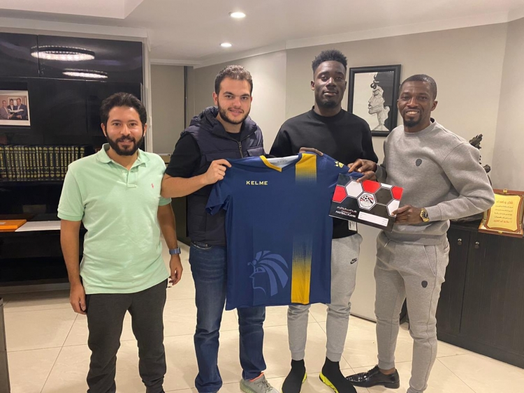 EXCLUSIVE: Egypt top-flight side Ceramica Cleopatra sign Winful Cobbinah from Tirana
