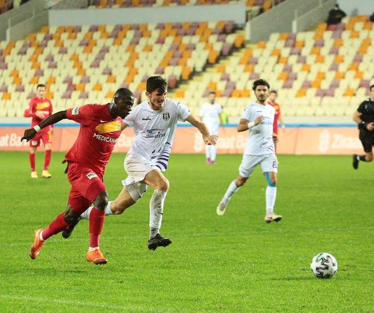 VIDEO: Afriyie Acquah caps off Black Stars return with a goal as Yeni Malatyaspor defeat Hopaspor in Turkish Cup
