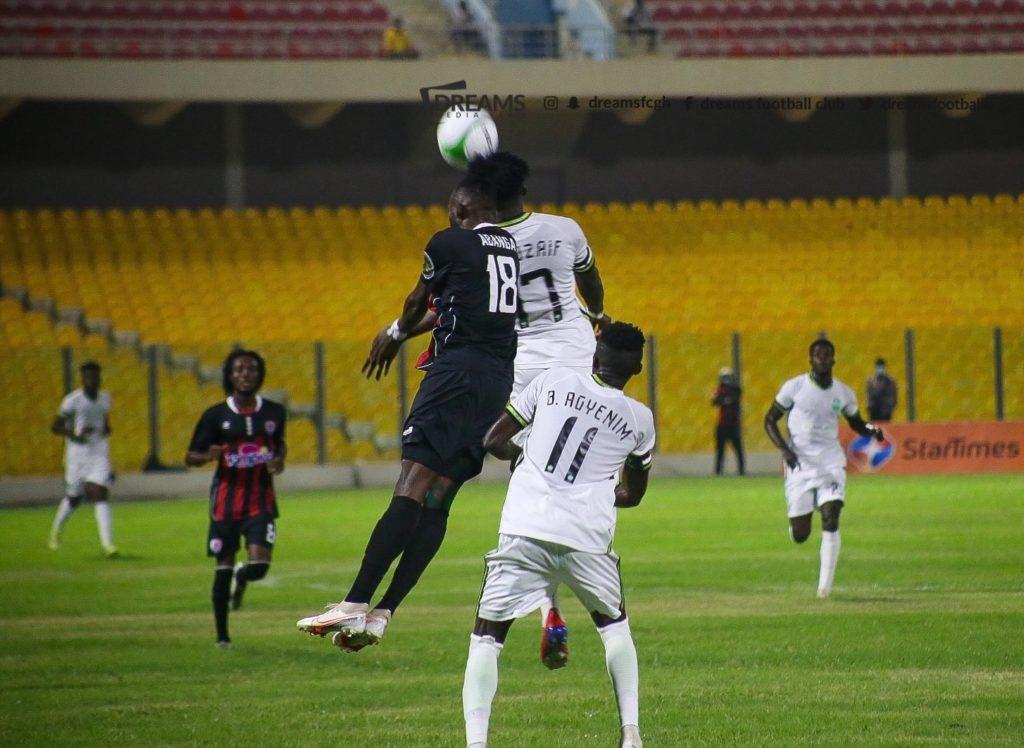 2020/21 Ghana Premier League: Week 1 Match Report- Inter Allies 0-0 Dreams FC