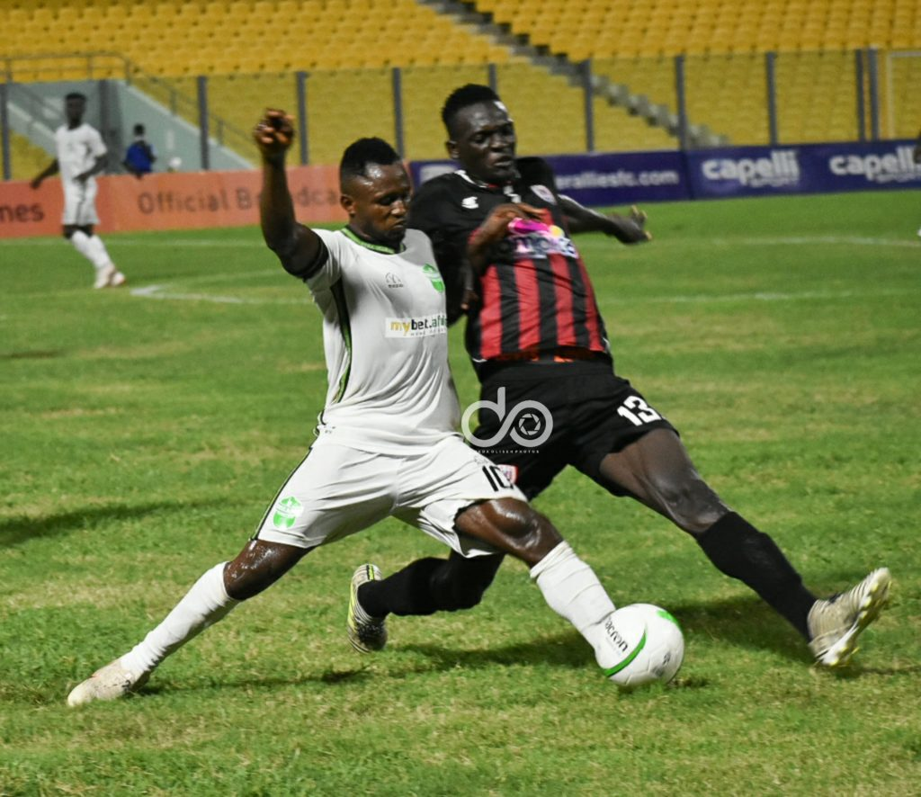 Dreams FC coach Winfred Dormon impressed with debutant Joseph Esso