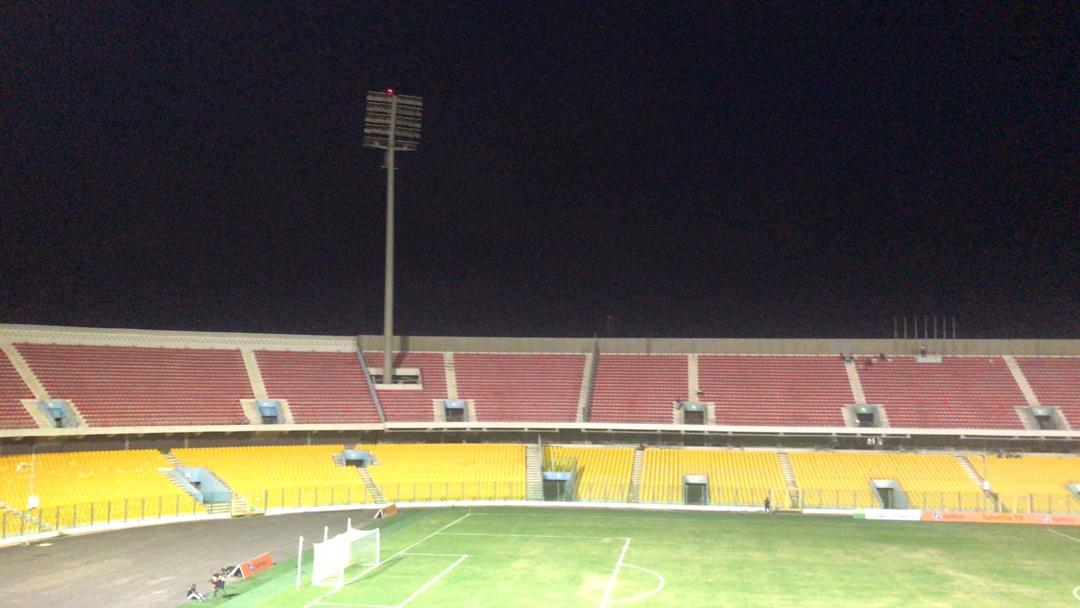Hearts-Ashantigold clash delayed after failure to turn on floodlights on time
