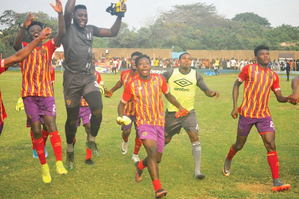 2020/21 Ghana Premier League: Hearts of Oak name strong squad for AshantiGold fixture
