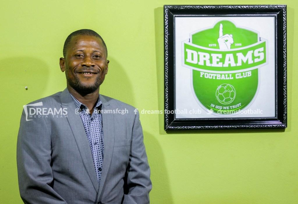 2020/21 Ghana Premier League: Dreams FC coach Winfred Dormon eyes win over Inter Allies