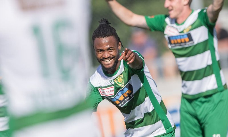 Ghana's Asumah Abubakar hits brace as ten-man Kriens FC suffer last-gasp defeat against FC Chiasso