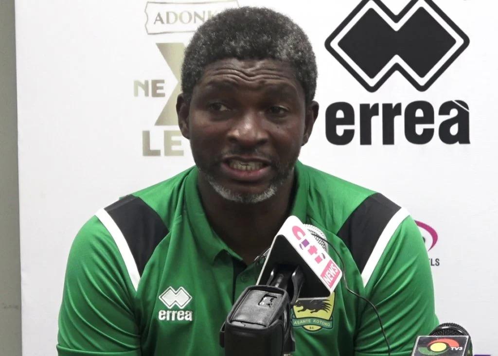Kotoko CEO Nana Yaw Amponsah admits mistake in sacking Maxwell Konadu