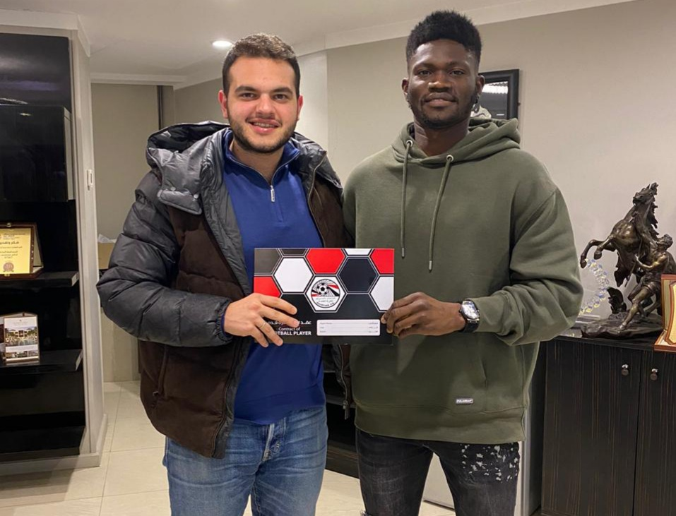 BREAKING! Kwame Bonsu completes move to Egypt top-flight side Ceramica Cleopatra