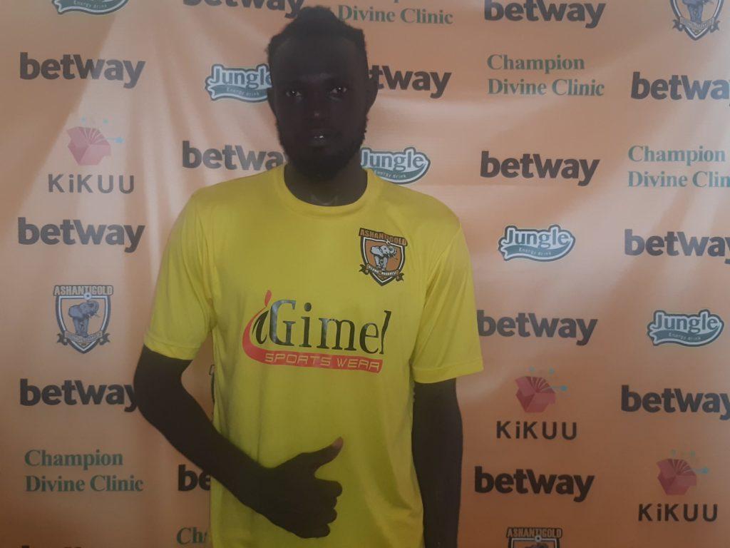 2020/21 Ghana Premier League: Two-goal hero Dacosta Boadu named man of the match in AshantiGold win over Elmina Sharks