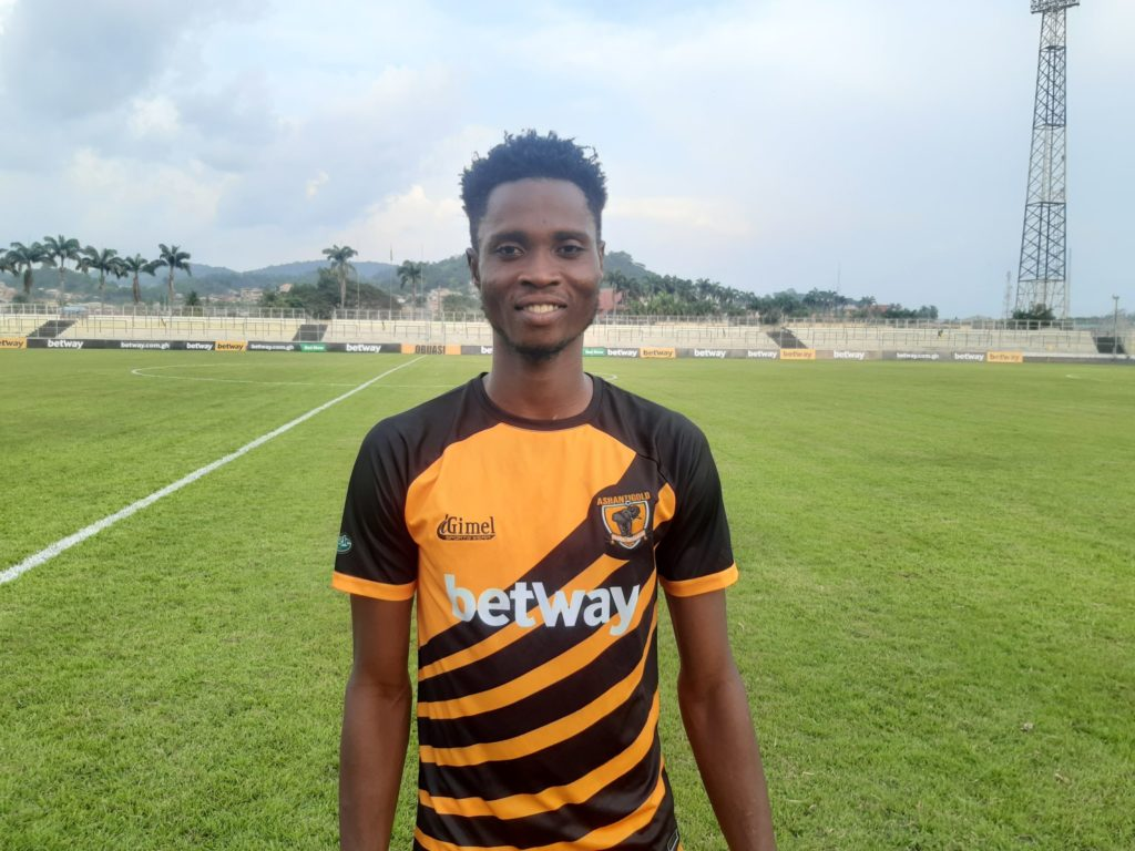 2020/21 Ghana Premier League: Debut delight for youngster Isaac Opoku Agyemang as he wins MVP in AshantiGold trouncing of King Faisal