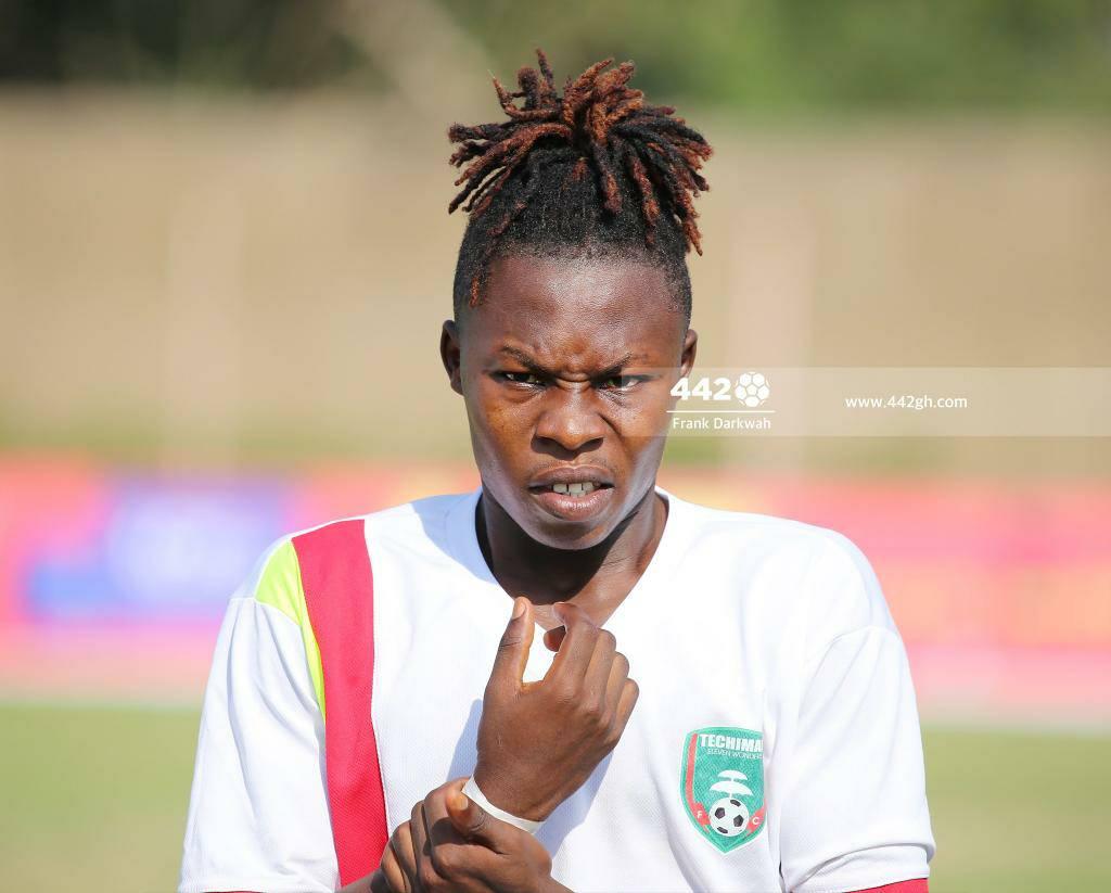2020/21 Ghana Premier League: Eleven Wonders star Salifu Ibrahim wins 4th MVP of the season against AshantiGold