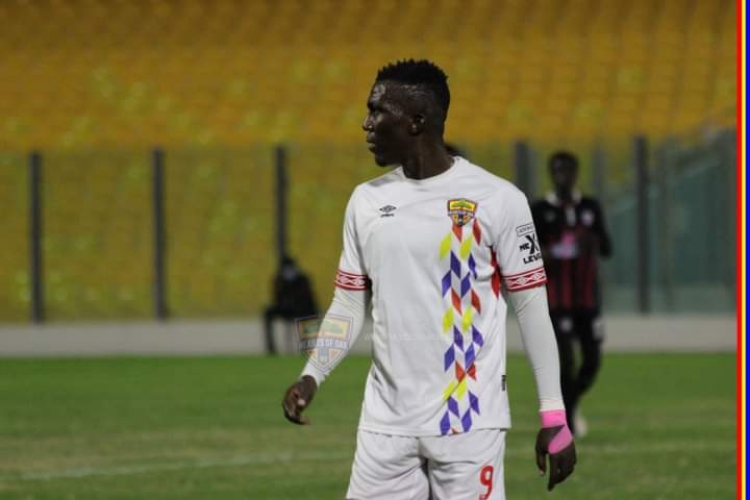 Misfiring Hearts of Oak striker Abednego Tetteh pleads for support and prayers