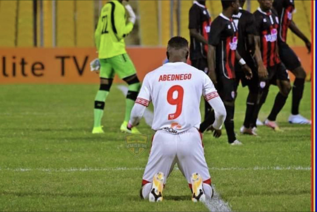 Abednego Tetteh worried he failed at Hearts of Oak