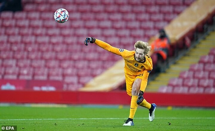 Caoimhin Kelleher makes a STUNNING reflex save for Liverpool in win over Ajax