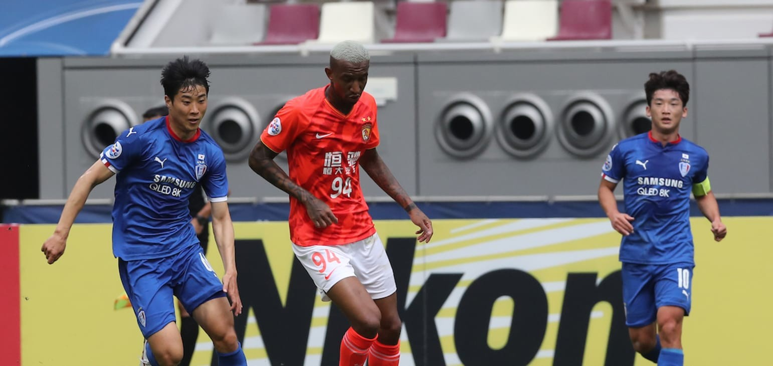 Stalemate leaves Guangzhou Evergrande FC, Suwon Samsung Bluewings' AFC Champions League hopes in the balance    Football   News   AFC Champions League 2020