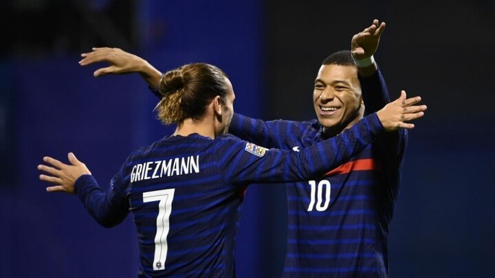 French Minister of the Interior hits out at Griezmann and Mbappe