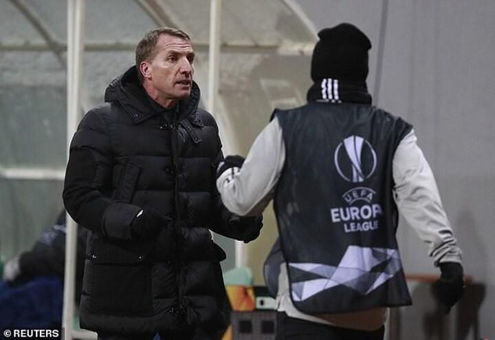 Zorya Luhansk 1-0 Leicester City:Brendan Rodgers men concede late goal