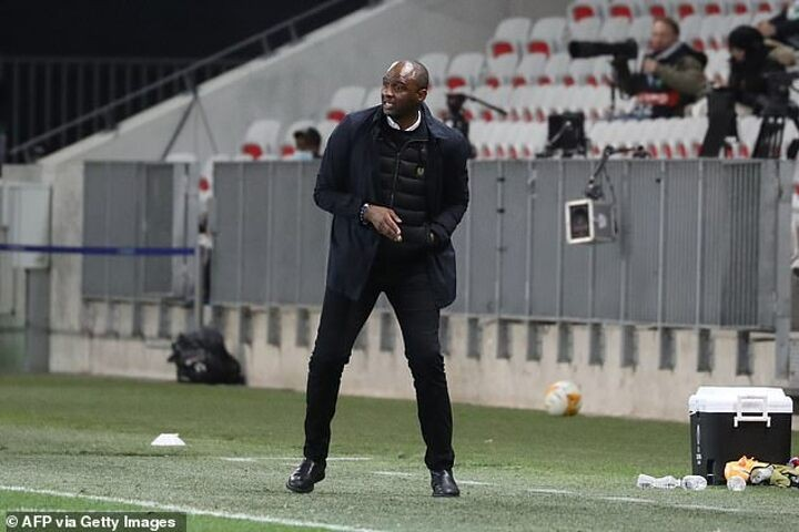 Vieira 'sacked by Nice' after overseeing run of five successive defeats