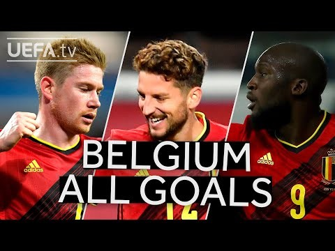 DE BRUYNE, MERTENS, LUKAKU: BELGIUM 2020/21 #UNL Group Stage All GOALS!!