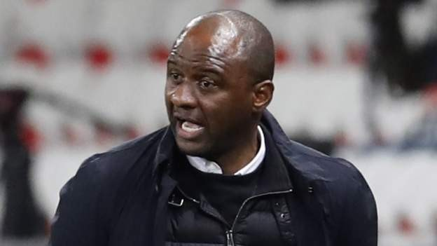 Vieira sacked as manager of Nice