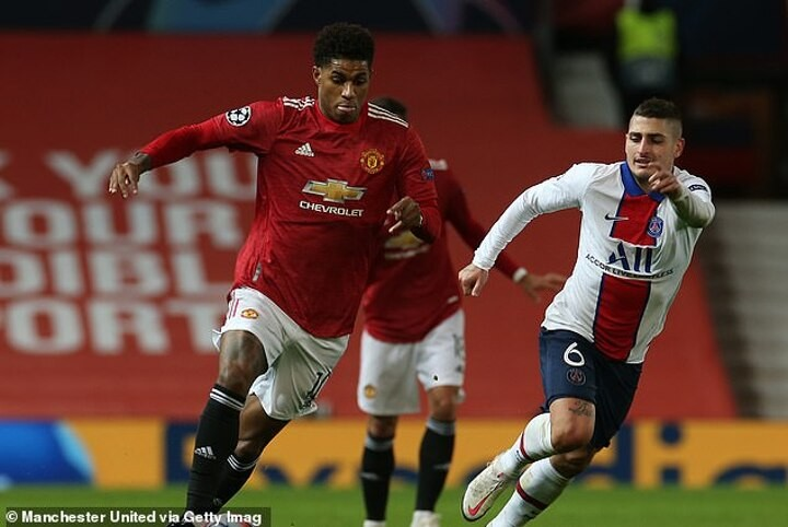 Rashford battling to be fit for Manchester United's trip to West Ham