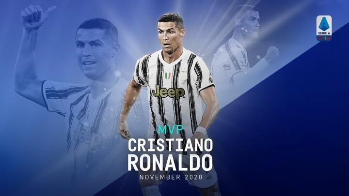 OFFICIAL: Cristiano Ronaldo becomes the MVP of Serie A November