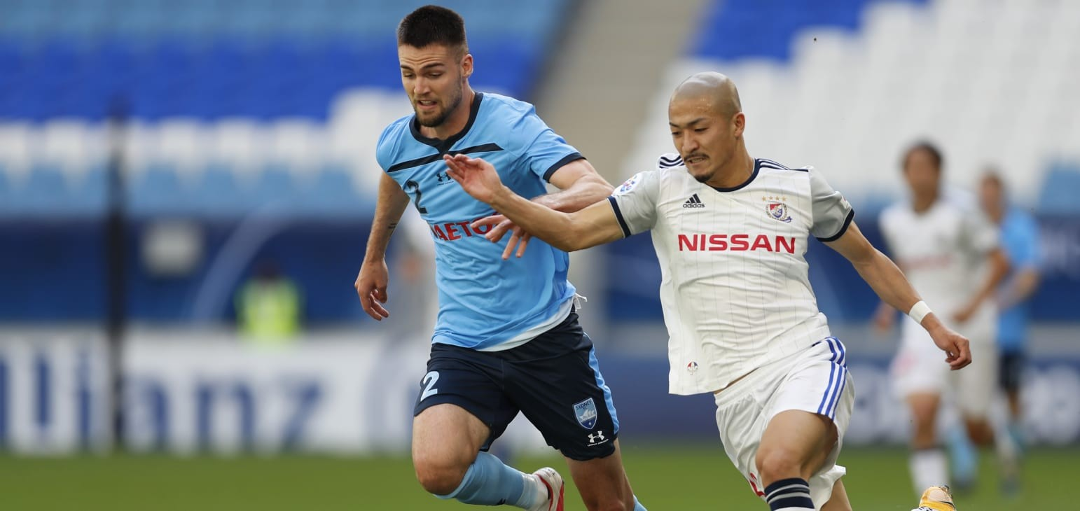 Sydney FC hold Yokohama F. Marinos in AFC Champions League farewell    Football   News   AFC Champions League 2020