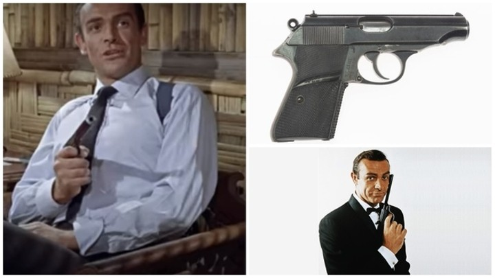 Sean Connery's gun from first James Bond film fetches 260,000 dollars at auction
