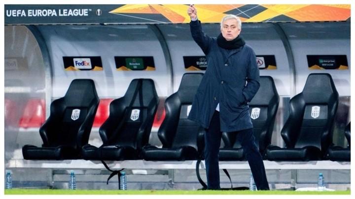 Mourinho criticises Tottenham players' lack of motivation in Europa League