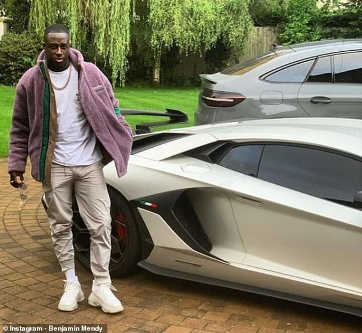 Manchester City defender Mendy 'facing race against time to save Lamborghini from being crushed'