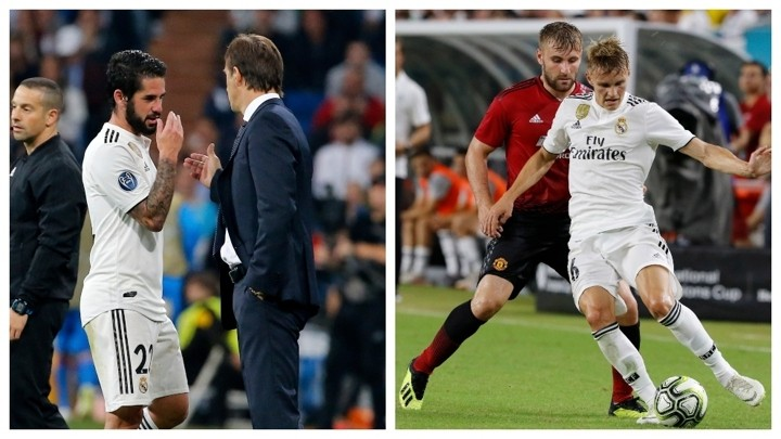 Lopetegui vs Odegaard and Isco, his two 'what ifs'