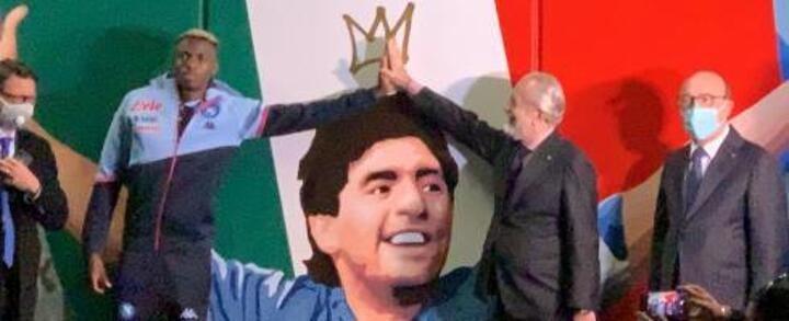 Naples metro station named after Maradona