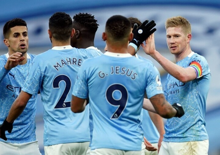 Man City 2-0 Fulham: Sterling & De Bruyne on target as Pep's side get easy win