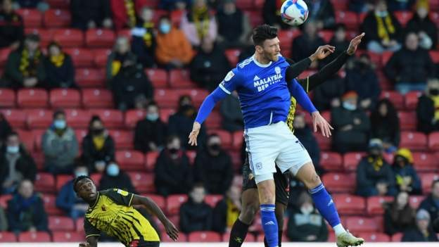 Moore wins it for Cardiff at Watford