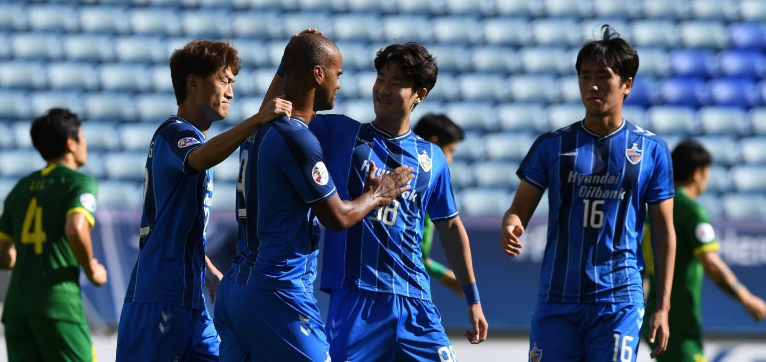 Júnior Negrão double takes Ulsan Hyundai FC into AFC Champions League semi-final at Beijing FC's expense    Football   News   AFC Champions League 2020