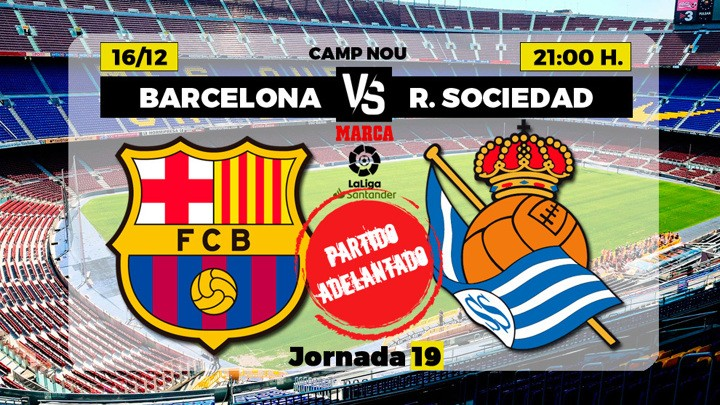 Barcelona vs Real Sociedad: Two of the title candidates ...