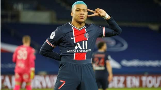 Mbappe e Kean marcaram na vitória do PSG