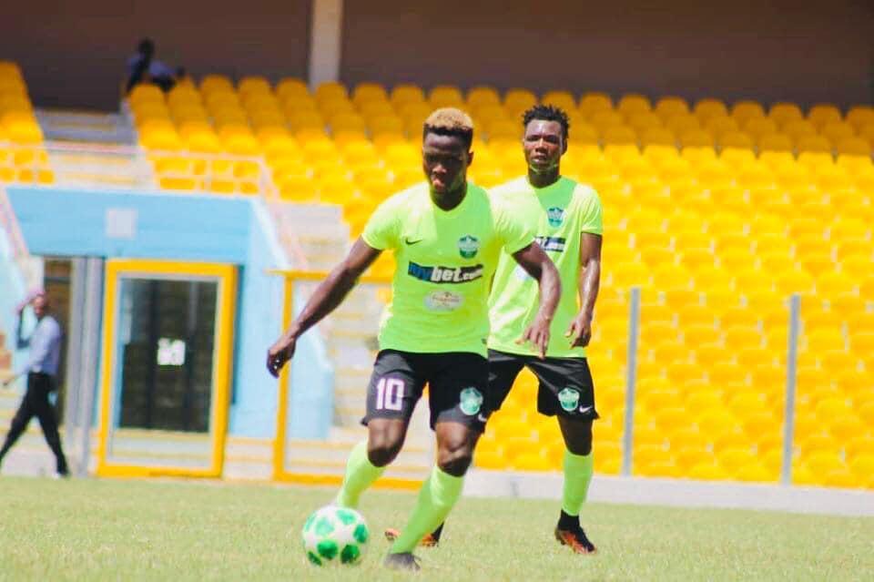 2020/21 Ghana Premier League: Dreams FC winger Emmanuel Ocran wins MOTM against Asante Kotoko