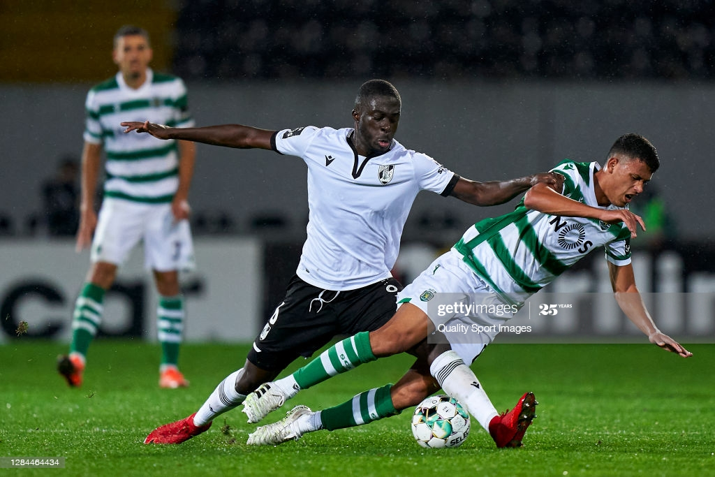 Abdul Mumin: Second defender with the most appearances for Vitoria Guimaraesthis season