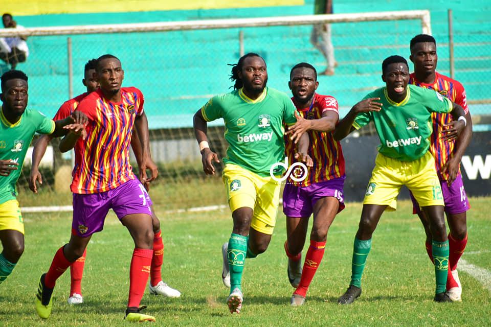 2020/21 Ghana Premier League: PICTURES- Aduana Stars 2-0 Hearts