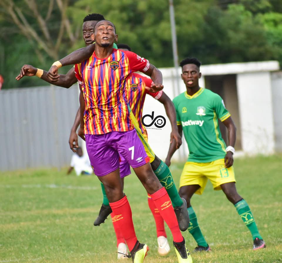 2020/21 Ghana Premier League: Highlights- Aduana Stars 2-0 Hearts of Oak