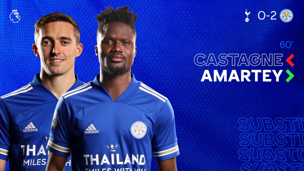 Performance of Ghanaian Players Abroad wrap-up: Amartey makes injury return for Leicester as Ampomah, Blessing on target for respective clubs